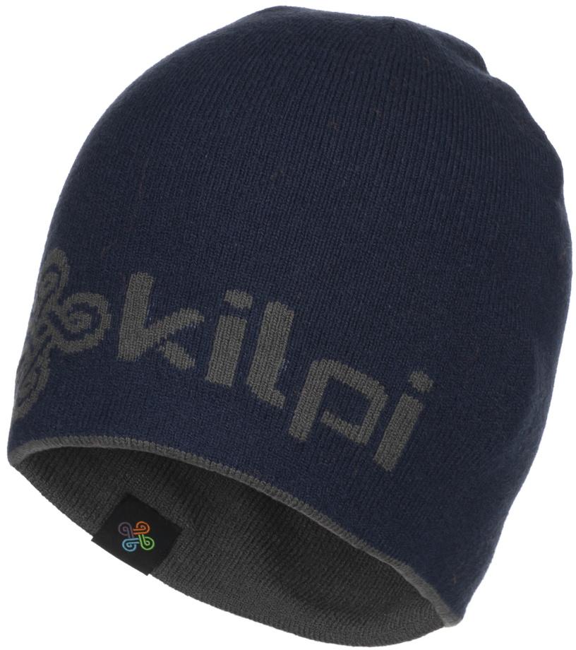KILPI Pánská zimní čepice HAMER-M JM0129KIDBL Tmavě modrá