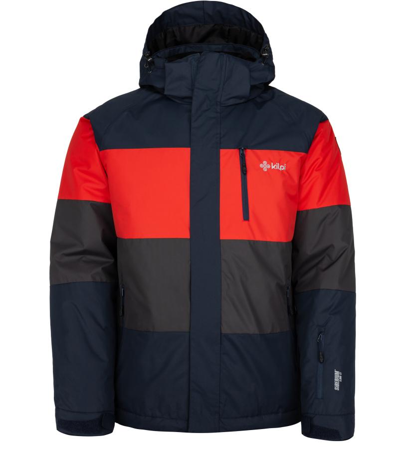 KILPI Pánská lyžařská bunda ORMES-M JM0143KIDBL Tmavě modrá