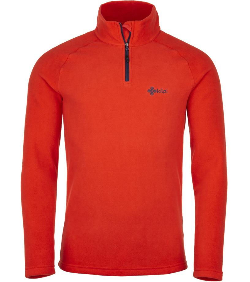 KILPI Pánská fleece mikina ALMAGRE-M JM0144KIRED Červená
