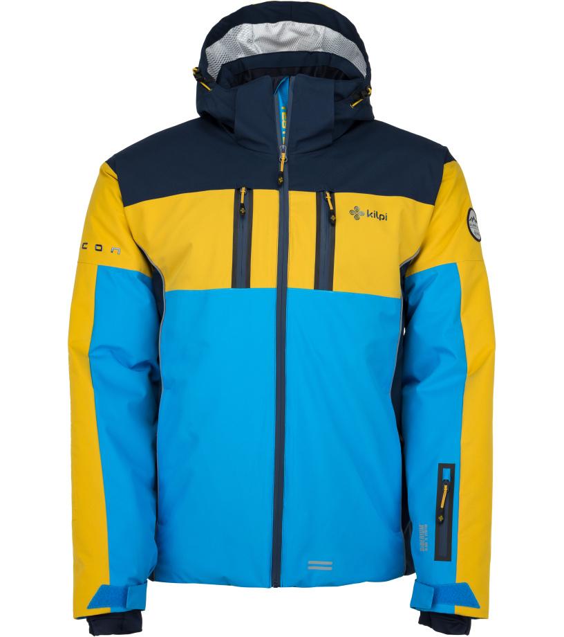 KILPI Pánská lyžařská bunda FALCON-M JM0146KIBLU Modrá