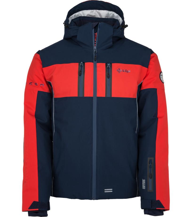 KILPI Pánská lyžařská bunda FALCON-M JM0146KIDBL Tmavě modrá