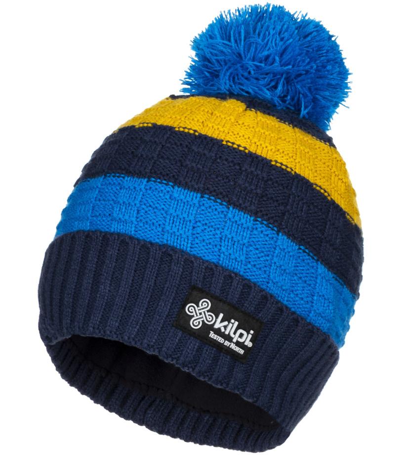 KILPI Pánská zimní čepice CURTIS-M JM0157KIDBL Tmavě modrá