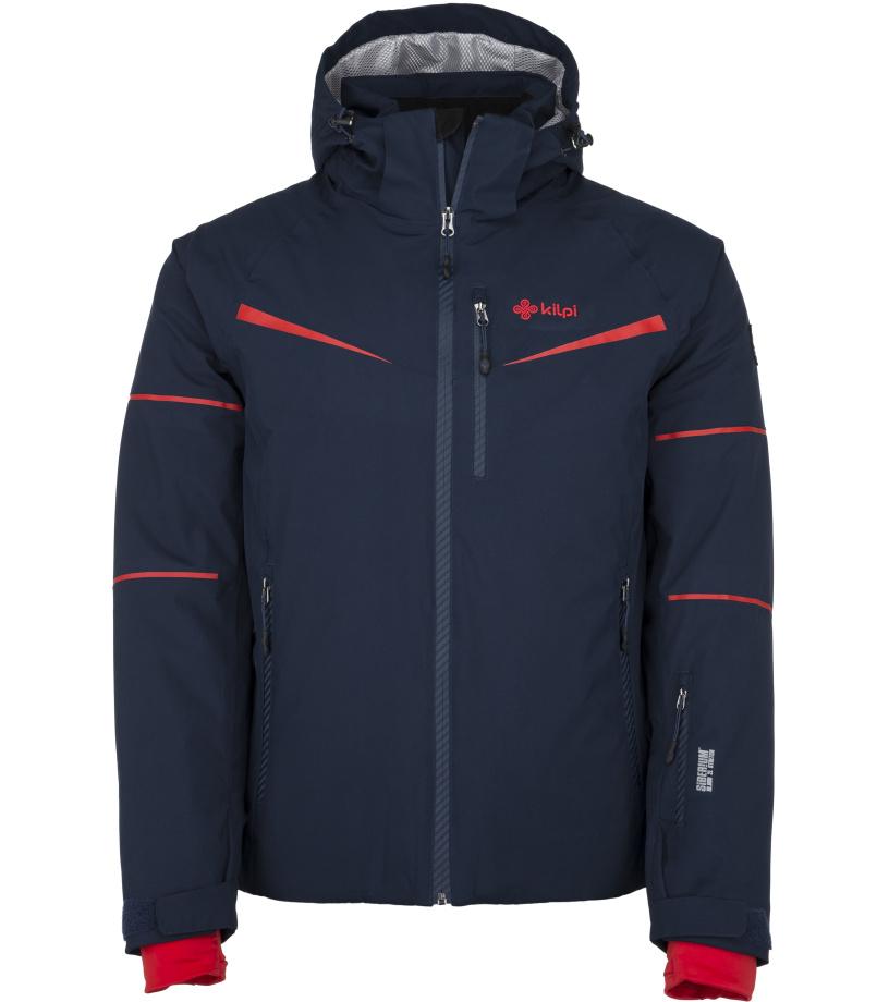 KILPI Pánská lyžařská bunda MARTIN-M JM0163KIDBL Tmavě modrá