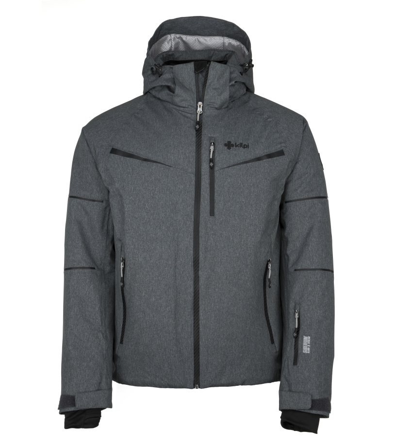 KILPI Pánská lyžařská bunda MARTIN-M JM0163KIDGY Tmavě šedá