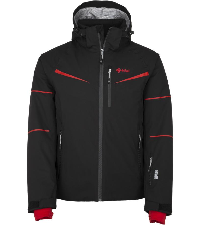KILPI Pánská lyžařská bunda MARTIN-M JM0163KIRED Červená