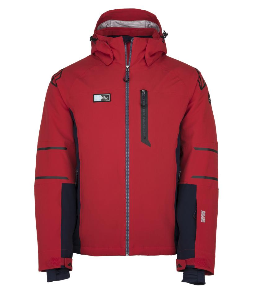 KILPI Pánská lyžařská bunda CARPO-M JM0202KIRED Červená