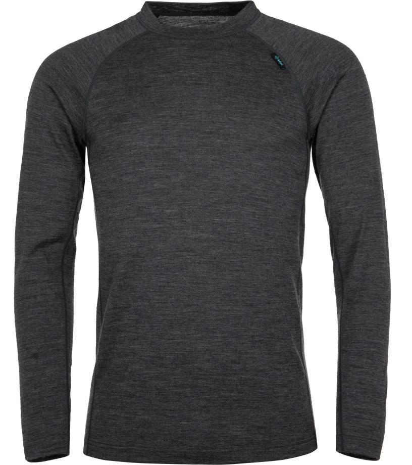 KILPI Pánské termo tričko PATTON-M JM0204KIDGY Tmavě šedá
