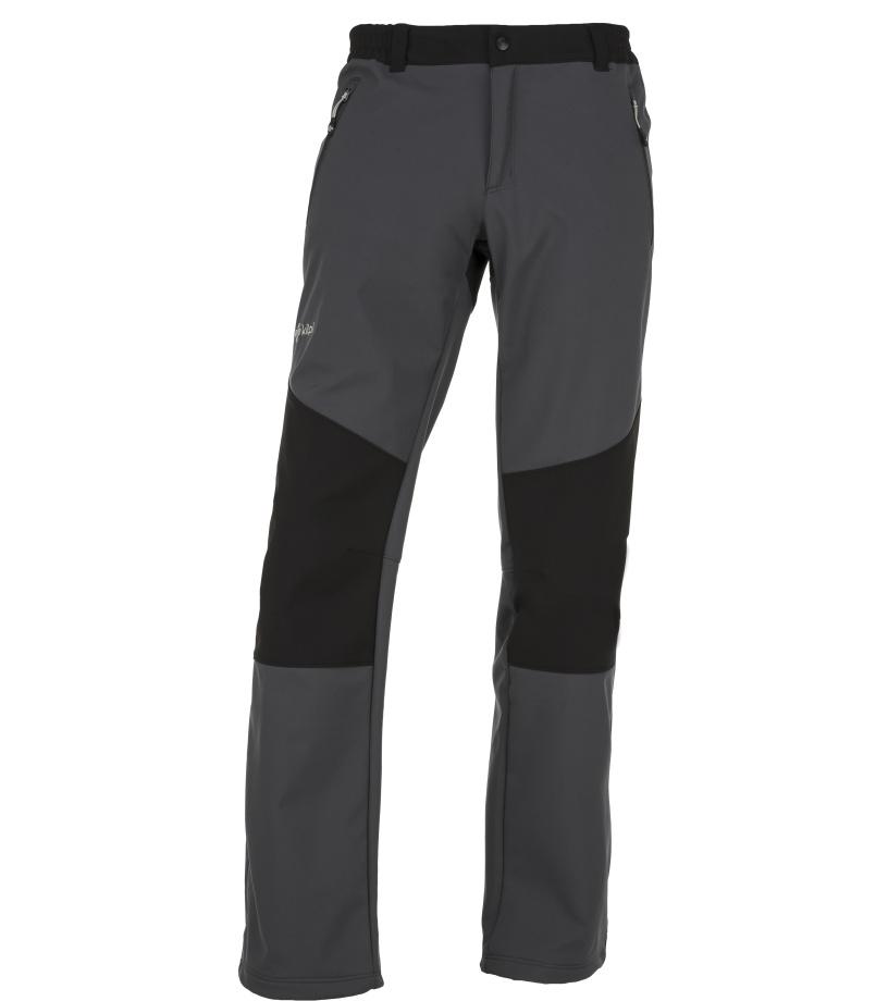 KILPI Pánské softshellové kalhoty MANILOU-M JM0954KIDGY Tmavě šedá