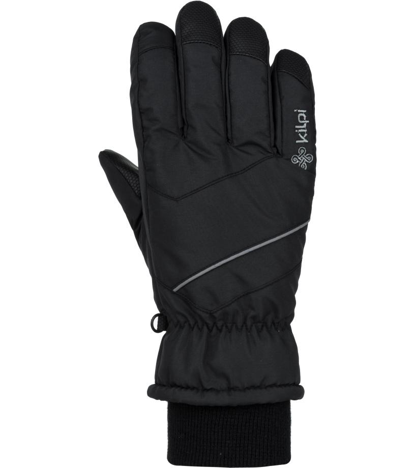 KILPI Unisex lyžařské rukavice TATA-U JU0159KIBLK Černá M