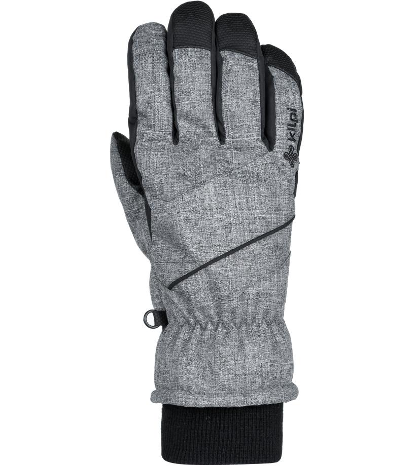 KILPI Unisex lyžařské rukavice TATA-U JU0159KIGRY Šedá M