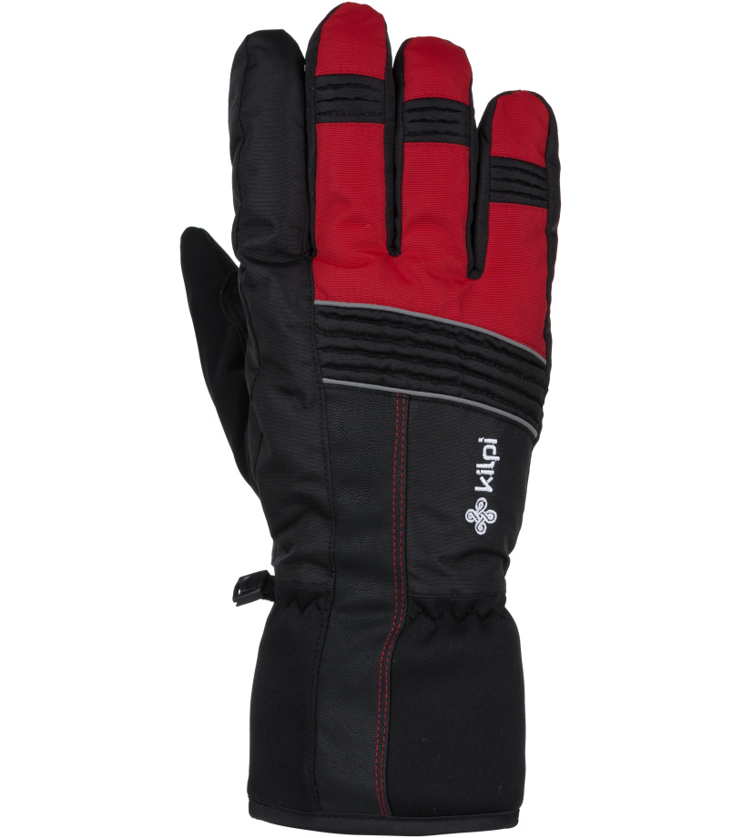 KILPI Unisex lyžařské rukavice GRANT-U JU0160KIRED Červená M