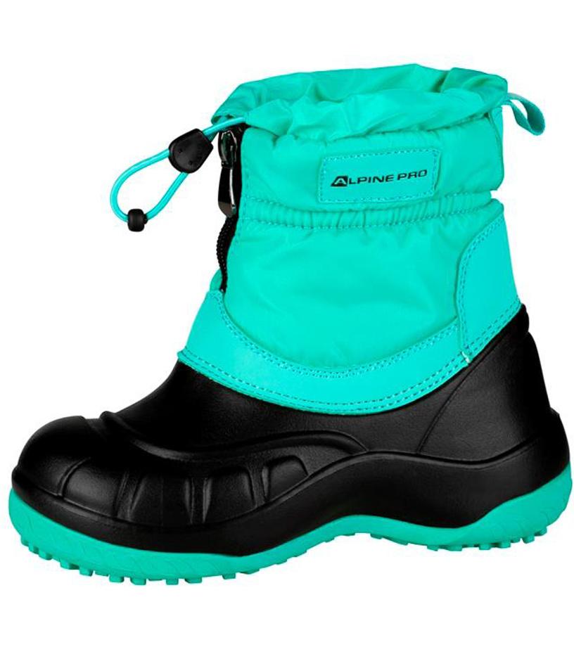 ALPINE PRO SAVIO Dětská zimní obuv KBTM177547 Cockatoo 25
