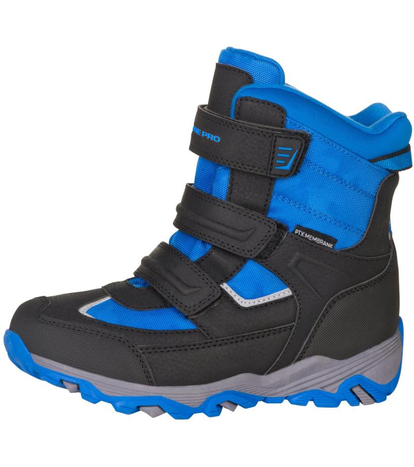 ALPINE PRO ACACIO Dětská zimní obuv KBTM178638 imprial