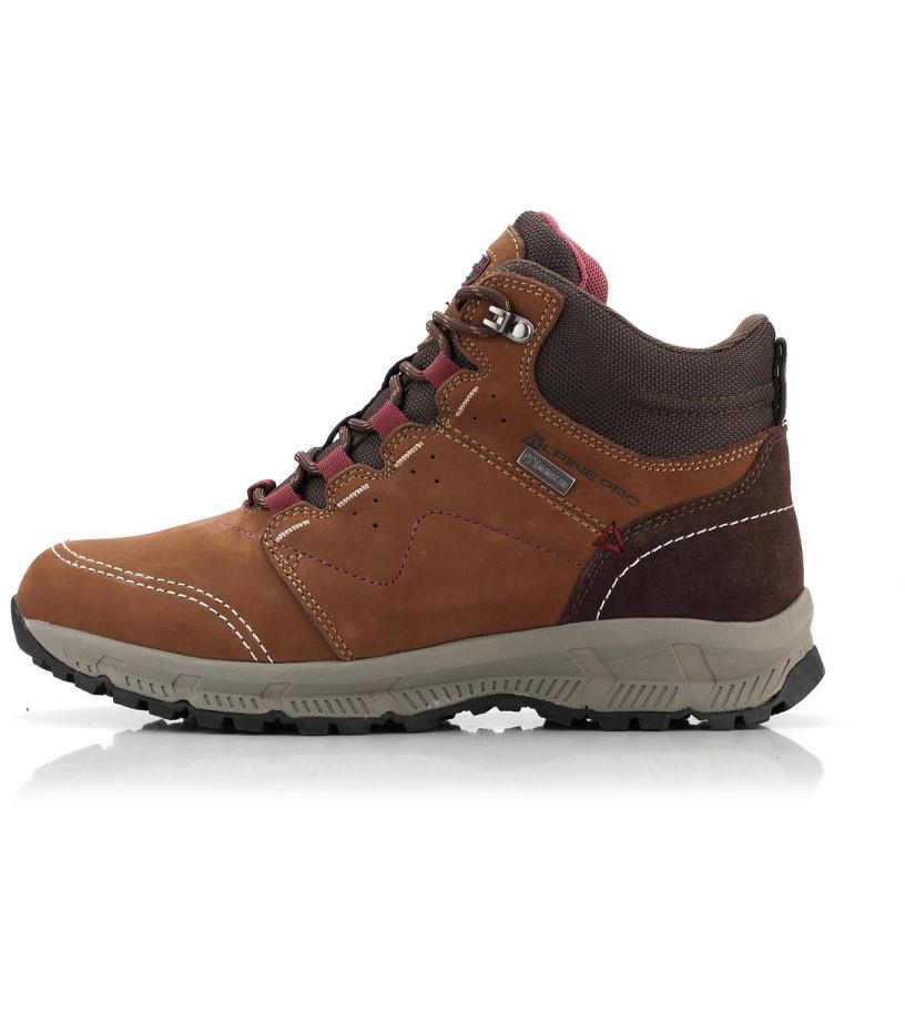 ALPINE PRO ERELA Dámská outdoorová obuv LBTM178996 hnědá