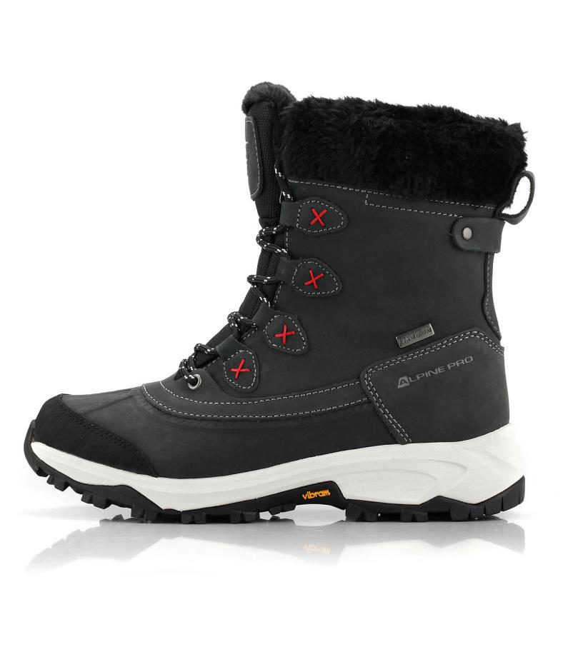 ALPINE PRO ANAHITA Dámská zimní obuv LBTM181990 černá 39