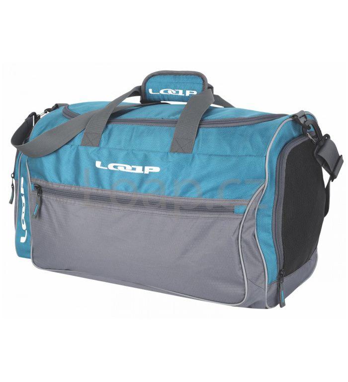 LOAP ALAFIA 42L Sportovní taška BA14142M10T modrošedá