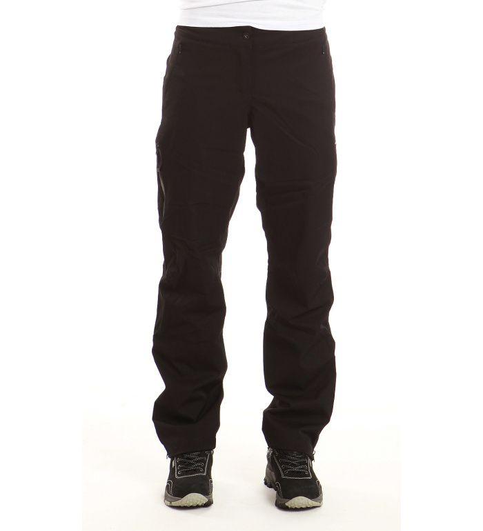 ALPINE PRO BRUTO Dámské softshell kalhoty LPAB029990 černá 46