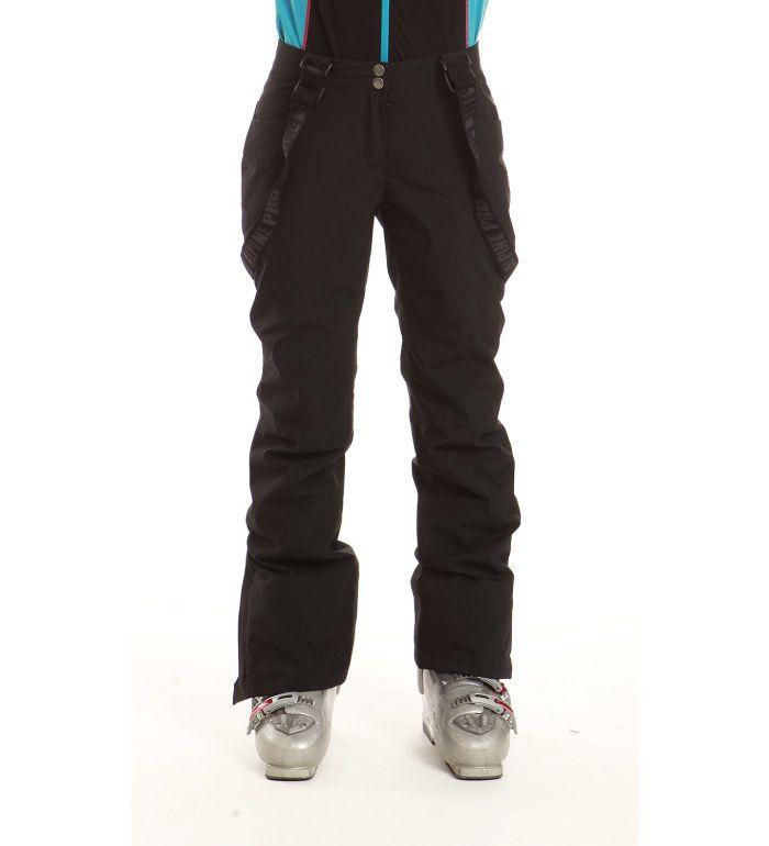 ALPINE PRO MONTELLO Dámské softshell kalhoty LPAB035990 černá XL
