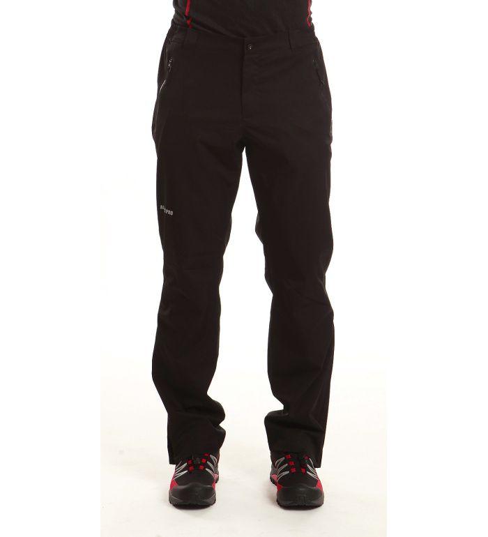 ALPINE PRO CRISTOFORO Pánské softshell kalhoty MPAB021990 černá 58