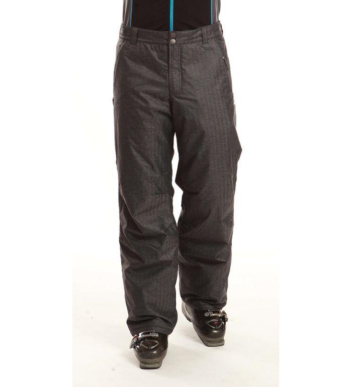 ALPINE PRO JONATHAN Pánské kalhoty MPAB040779 tmavě šedá XXL