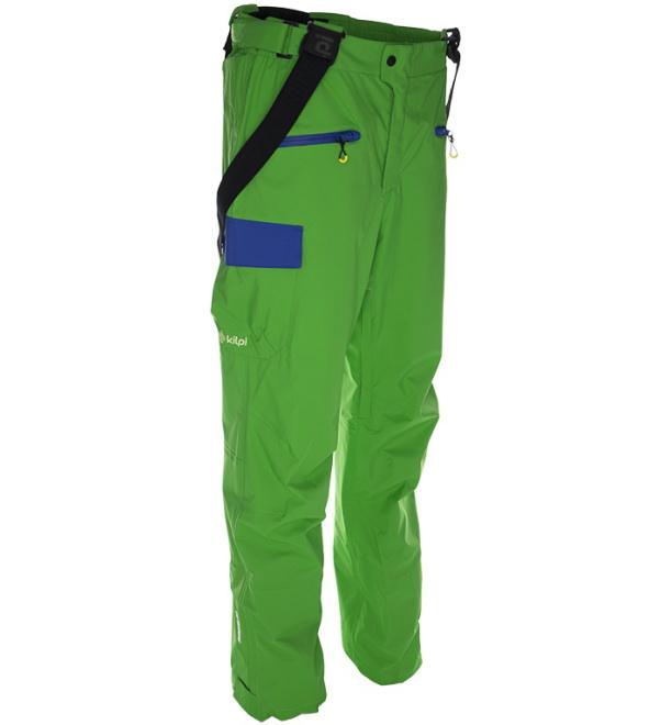 KILPI Pánské snowboardové kalhoty DURO BM0030KIGRN Zelená S