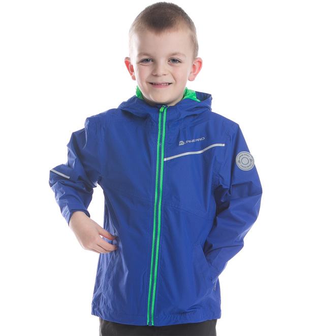 ALPINE PRO GALDO Dětská bunda KJCE011688 ultra blue 116-122