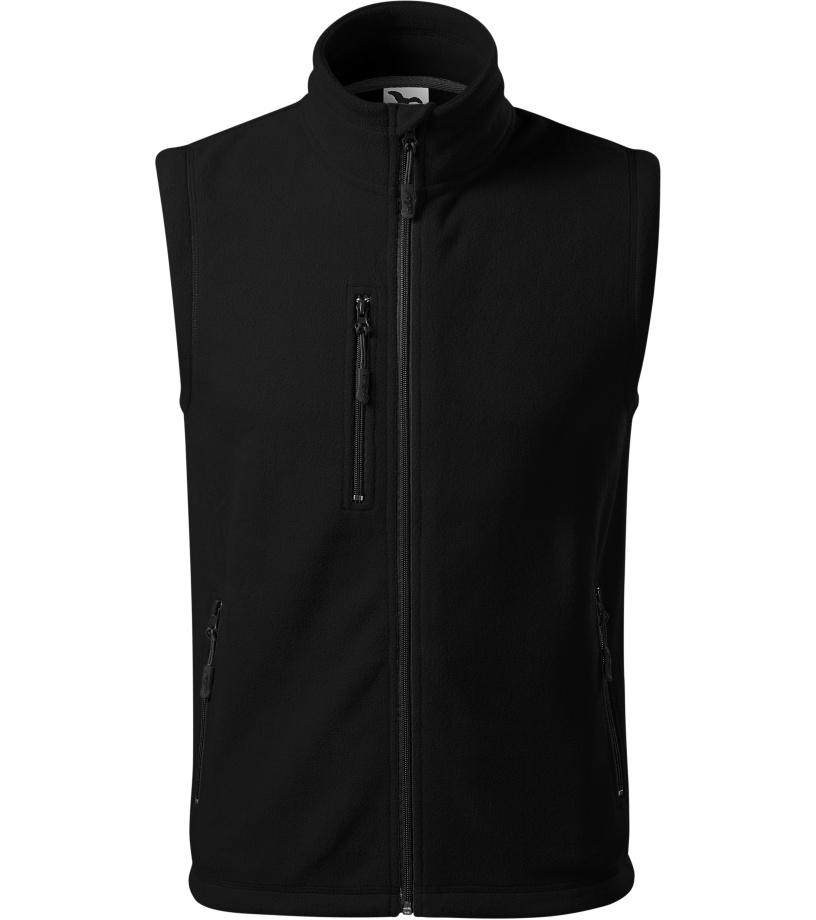 ADLER Exit Uni fleece vesta 52501 černá