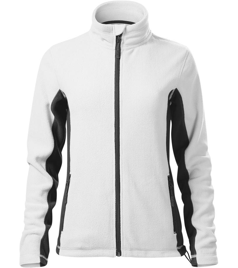 Malfini Frosty Dámská fleece bunda 52800 bílá XXXL