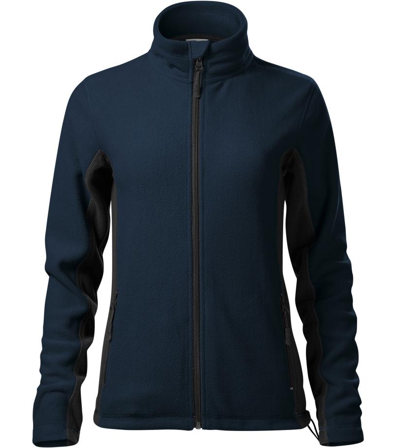 Malfini Frosty Dámská fleece bunda 52802 námořní modrá XXXL