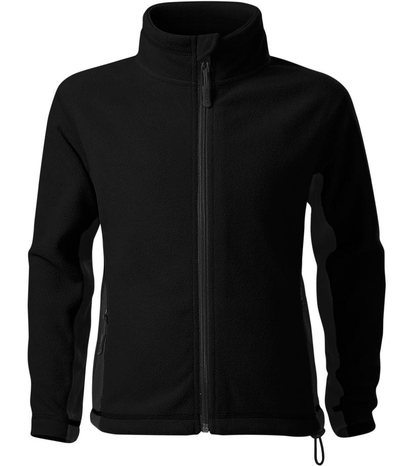 Malfini Frosty Dětská fleece bunda 52901 černá 122