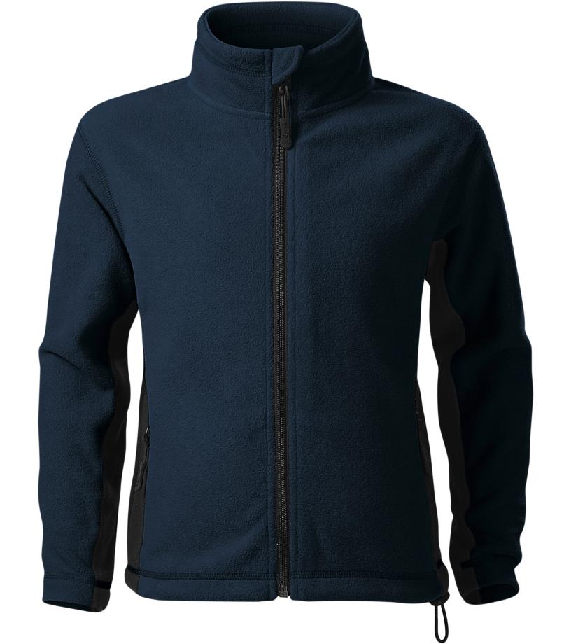 Malfini Frosty Dětská fleece bunda 52902 námořní modrá 122