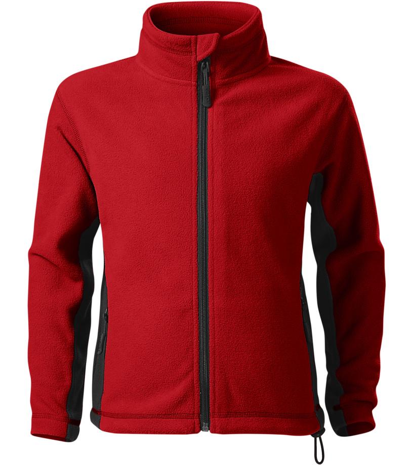 Malfini Frosty Dětská fleece bunda 52907 červená 122