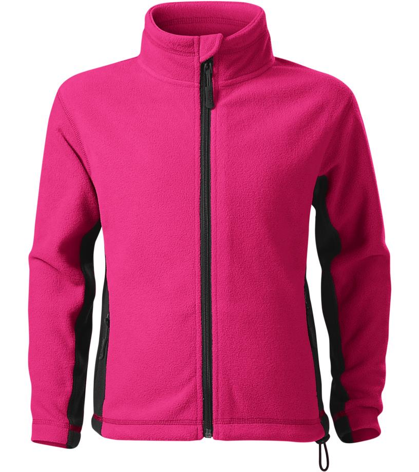 Malfini Frosty Dětská fleece bunda 52940 purpurová 158
