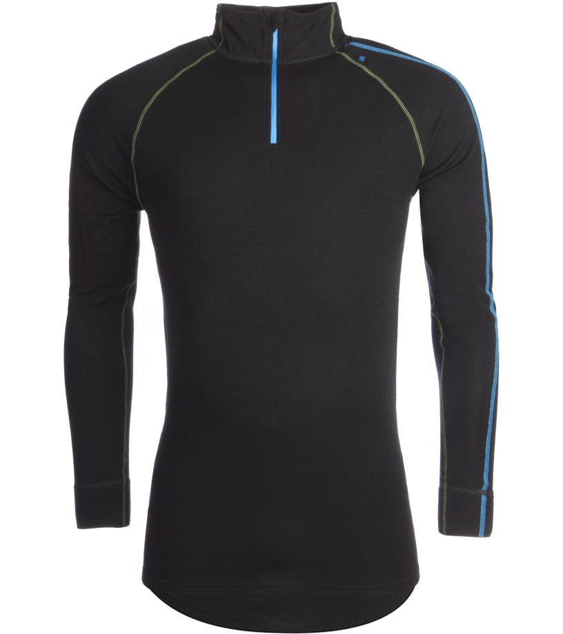 ALPINE PRO GENET 2 Pánské spodní triko - merino MUNM039990PB černá XL-XXL