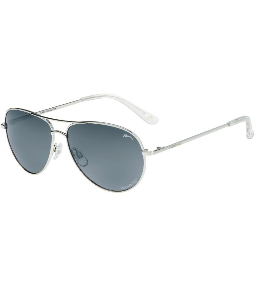 RELAX Lamba Uni sluneční brýle - polarizační R2337A světlá šedá 20L