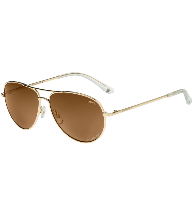 RELAX Lamba Uni sluneční brýle - polarizační R2337B zlatá 20L
