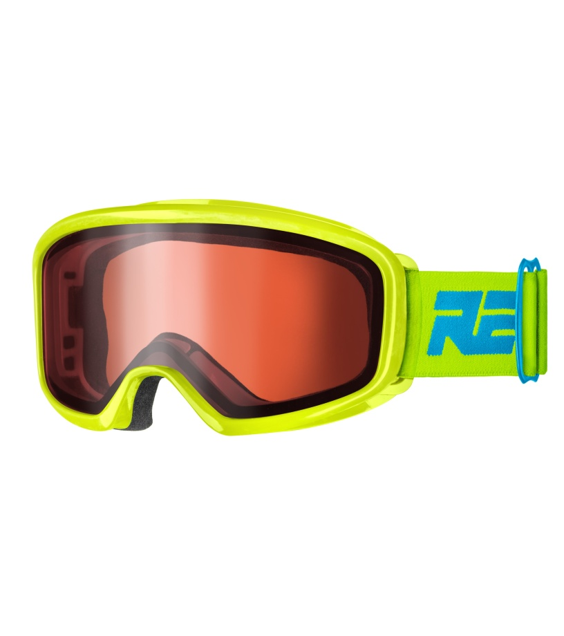 RELAX ARCH Dětské lyžařské brýle HTG54D žlutá S