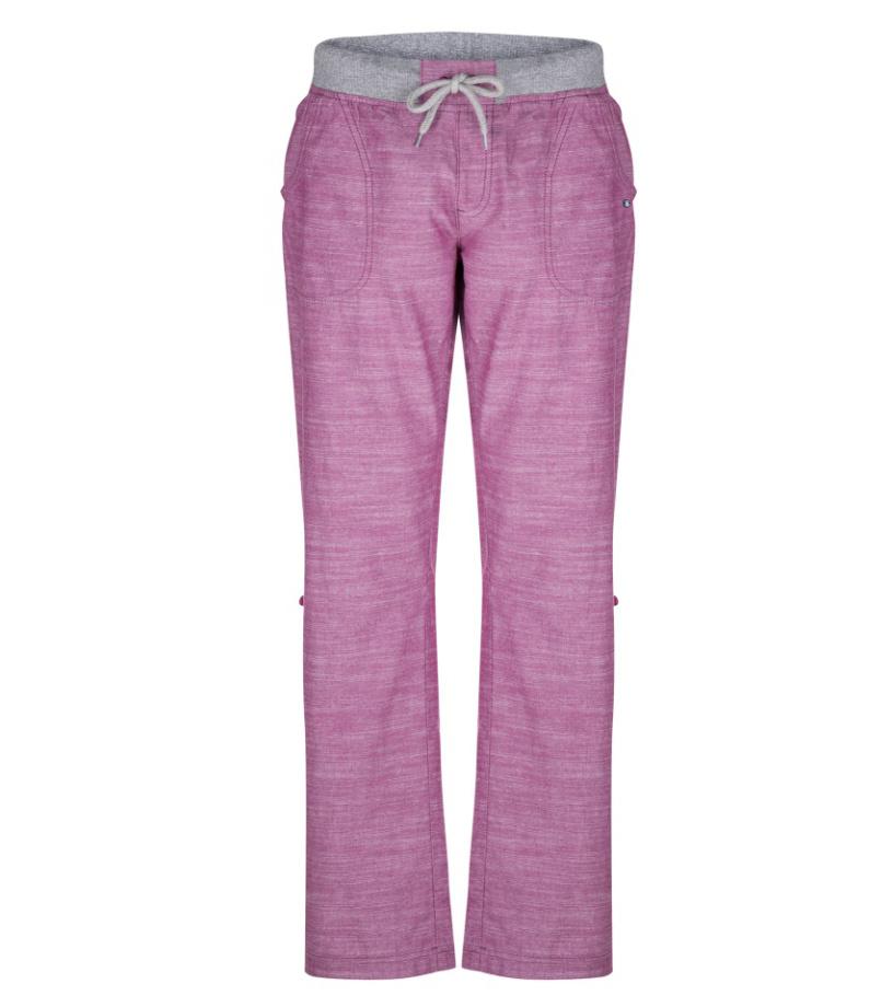 LOAP NADETA Dámské kalhoty do města CLW1887J02J růžová