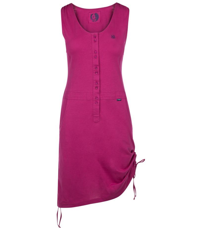 LOAP NELA Dámské sportovní šaty CLW1890J02J růžová L 32cf6bee09