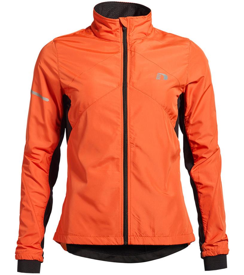 NEWLINE BASE CROSS Dámská běžecká bunda 13119-017 Oranžová XS