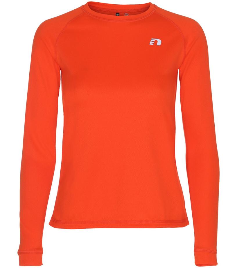 NEWLINE BASE Dámské běžecké tričko 13333-017 Oranžová