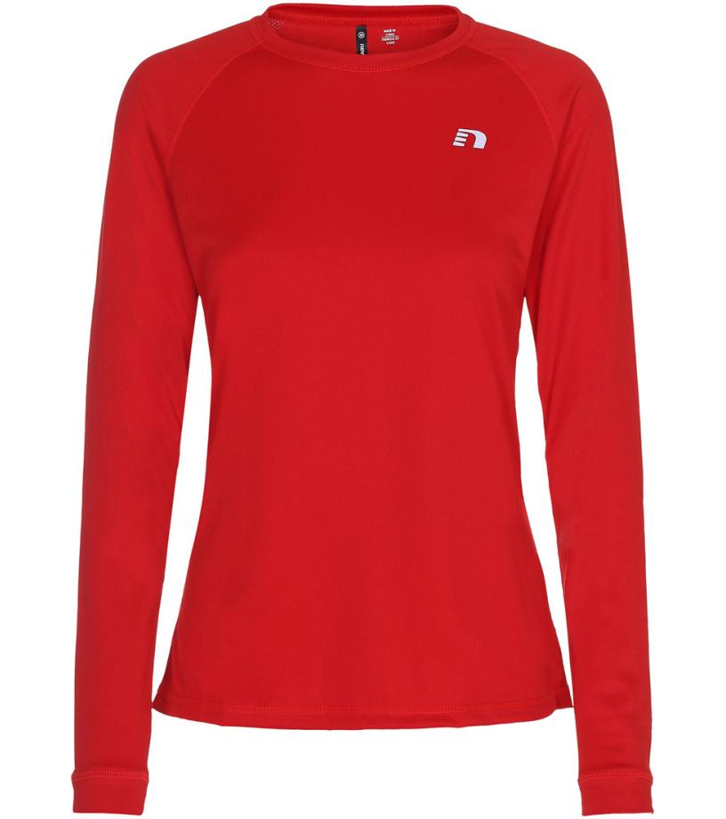 NEWLINE BASE Dámské běžecké tričko 13333-04 Červená