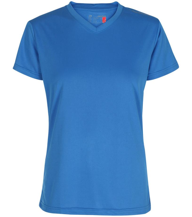 NEWLINE BASE Cool Dámské běžecké tričko 13614-016 Modrá XS