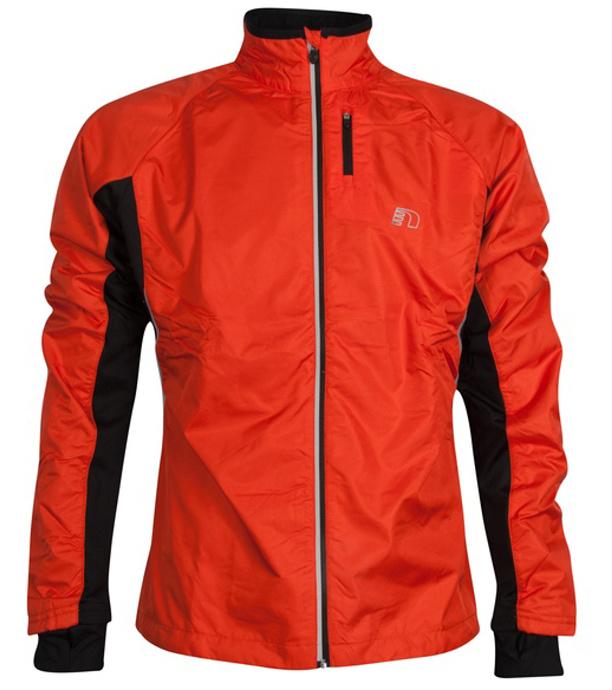 NEWLINE Base Cross JKT Pánská běžecká bunda 14089-017 Oranžová L