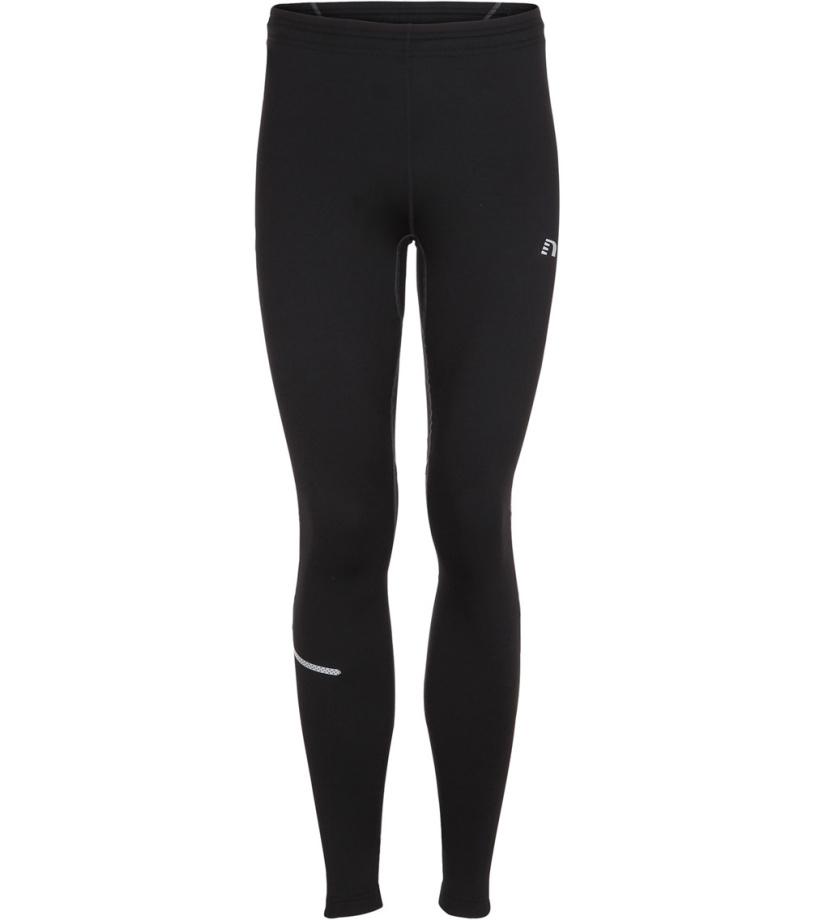 NEWLINE BASE Pánské kompresní běžecké kalhoty - zimní 14161-060 černá