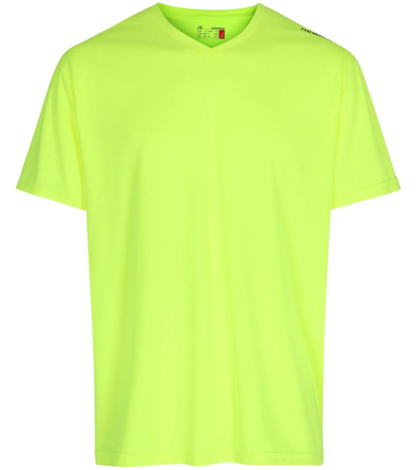 1e1dd9a62bb5 NEWLINE BASE COOL Dětské funkční tričko 15614-091 neonově žlutá XS