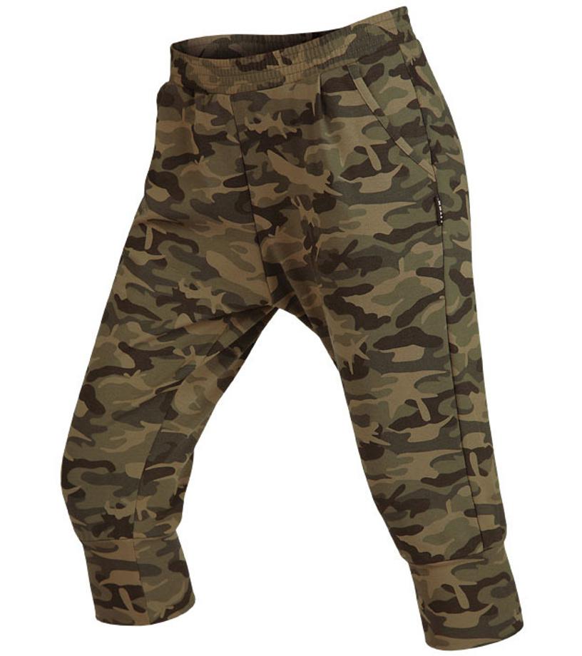 LITEX Kalhoty dámské 3 4 s nízkým sedem. 55300999 tisk 21122e3146