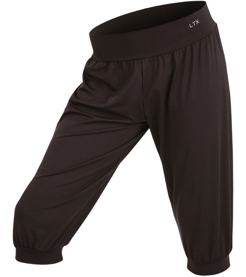 LITEX Kalhoty dětské 3 4 s nízkým sedem. 55449901 černá 128 0a18332bb4