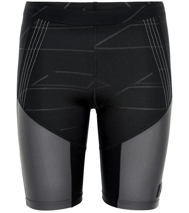 NEWLINE BLACK Dámské běžecké elastické šortky 77311-060 černá