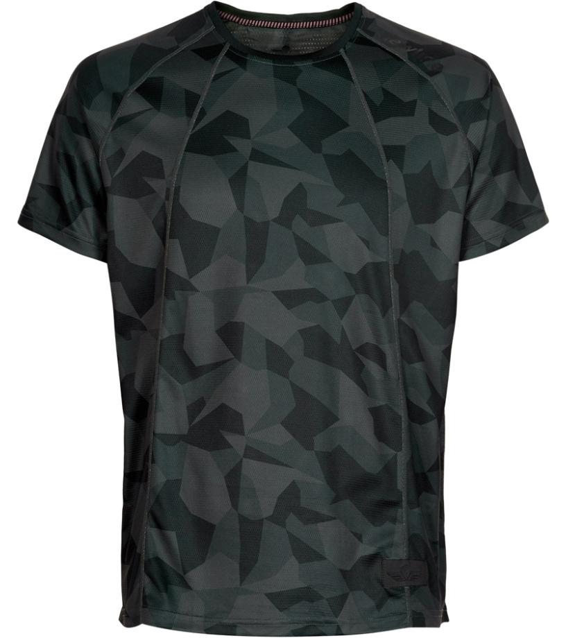 NEWLINE BLACK Pánské běžecké tričko 78328-649 649